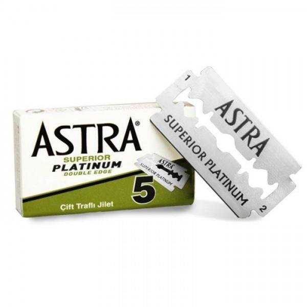 ASTRA Rasierklingen Superior Platinum (plastikfrei) 100 Stück