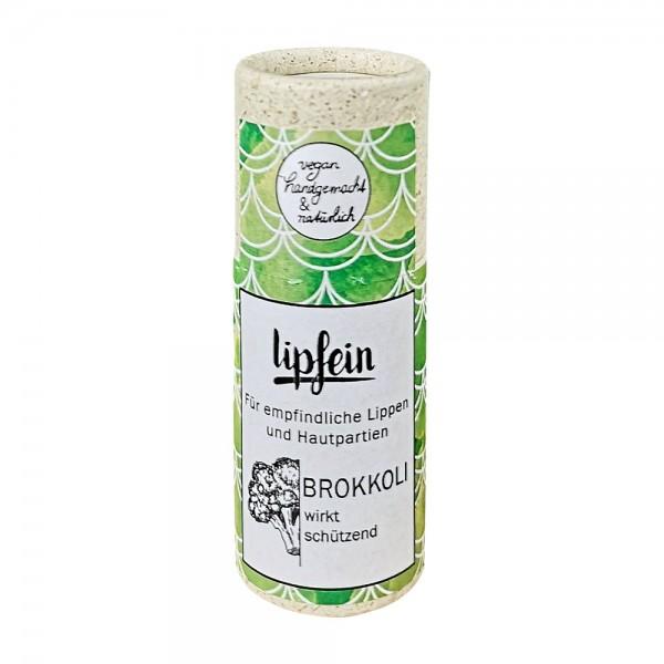 lipfein Lippenpflegestift Brokkoli 15 g (plastikfrei)