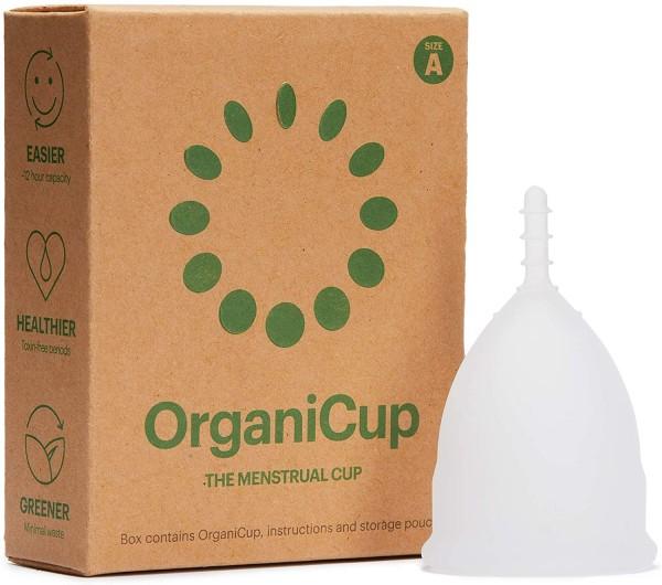 OrganiCup Menstruationstasse aus medizinischem Silikon