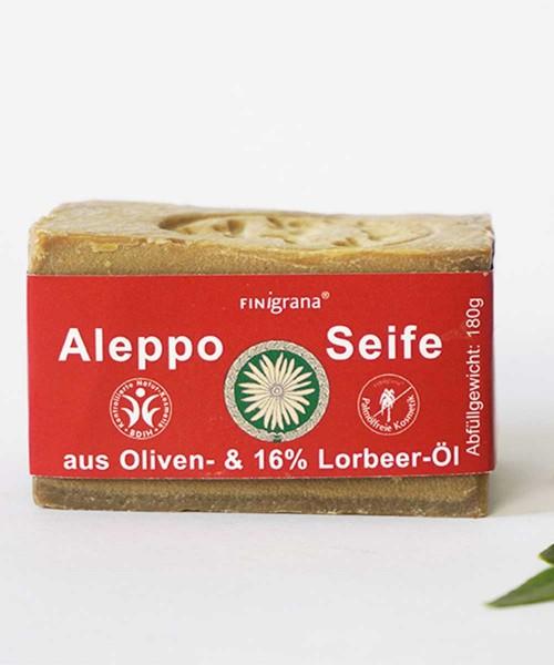 Aleppo Seife Olive mit 16% Lorbeeröl