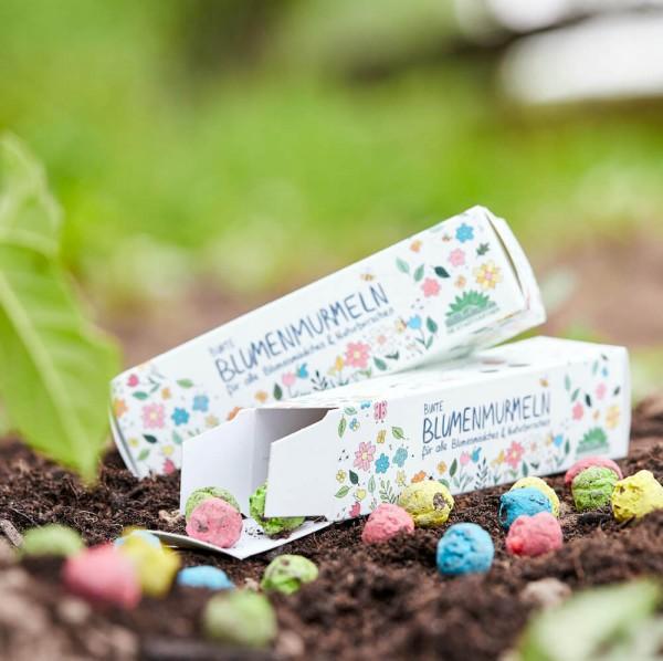 Blumenmurmeln - Bunte Seedbombs