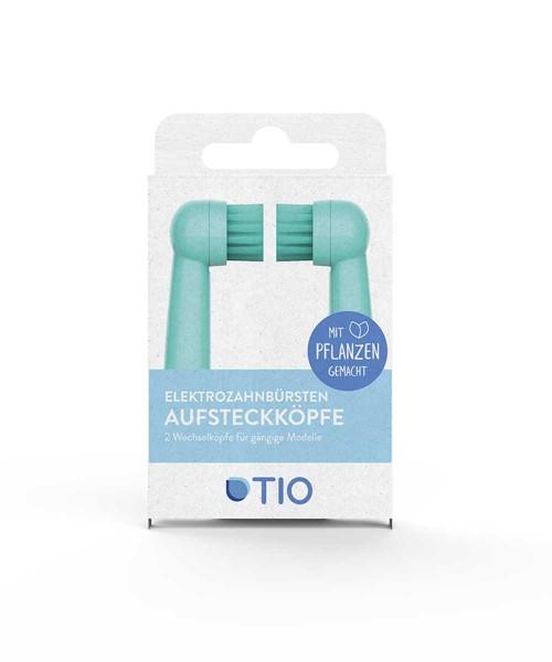 TIOMATIK Aufsatz für elektrische Zahnbürsten 2er Pack