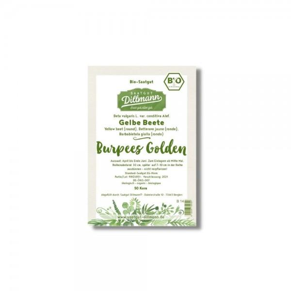 """Gelbe Betesamen """"Burpees Golden"""" BIO - 50 Korn"""