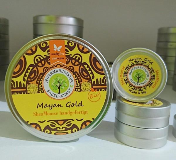 Sauberkunst SheaMousse ♥ Mayan Gold (Körperbutter)
