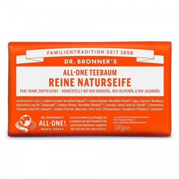 Dr. Bronner's reine Naturseife Teebaum