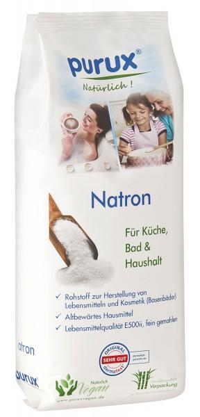 Natron in Lebensmittelqualität (E500ii, nachhaltige Verpackung aus Zuckerrohr) 1000 g