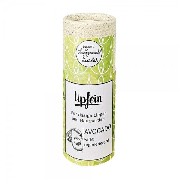 lipfein Lippenpflegestift Avocado 15 g (plastikfrei)