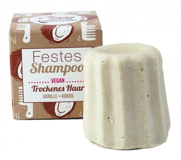 Festes Shampoo Vanille-Kokos (trockenes Haar)