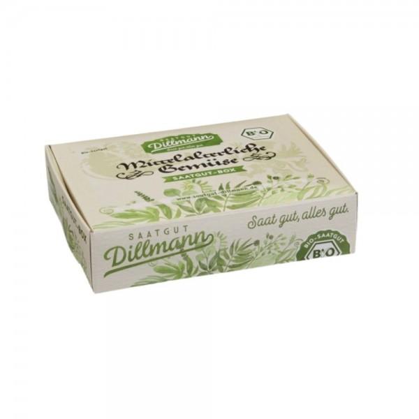 Mittelalterliche Gemüse Saatgut-Box S Bio