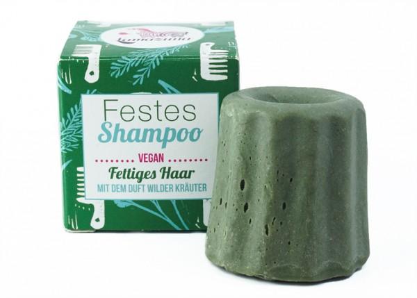 Festes Shampoo Wilde Kräuter (fettiges Haar)