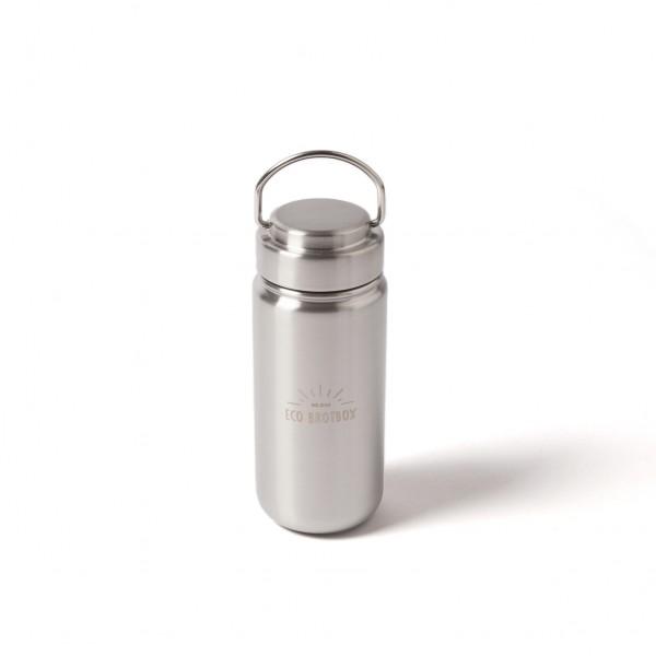ECO Brotbox Chi 2 Trinkflasche aus Edelstahl, mit Schraubverschluss (0,5 L)