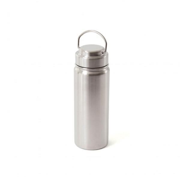 ECO Brotbox Yin Isolierflasche aus Edelstahl, mit Schraubverschluss (0,5 L)
