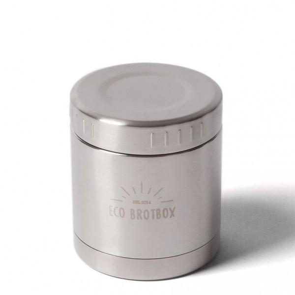 ECO Brotbox Li+ Isolierbehälter aus Edelstahl, auslaufsicher (0,3 L)