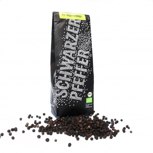 streugut Schwarzer Pfeffer nachhaltig & fair (ganze Körner) 200 g
