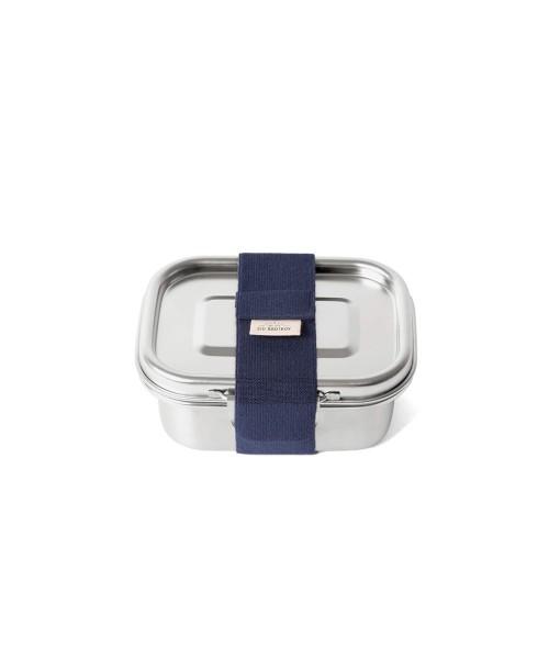 ECO Yumi+ (S) - kleine, einlagige Lunchbox aus Edelstahl mit breitem Klipp-Verschluss