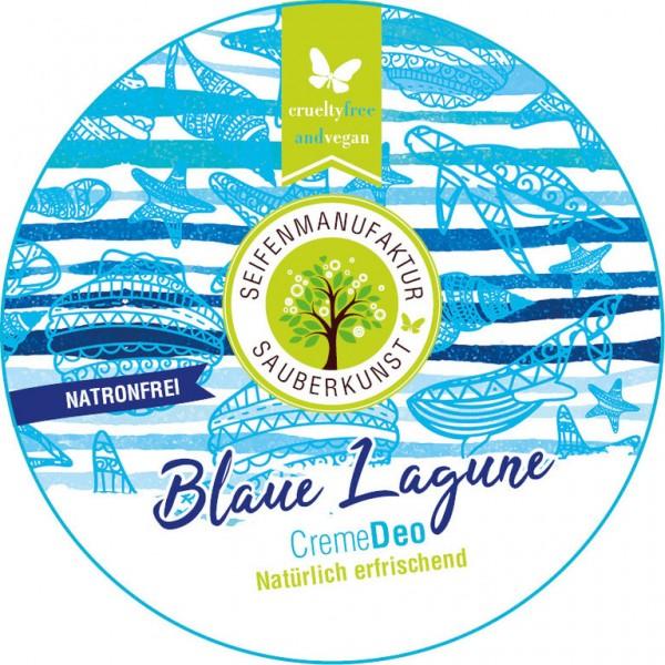 Sauberkunst CremeDeo Blaue Lagune - natronfrei