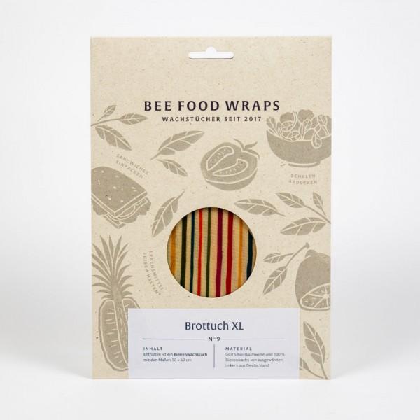 Bienenwachstuch extra groß (Brottuch) - plastikfreie Frischhaltefolie