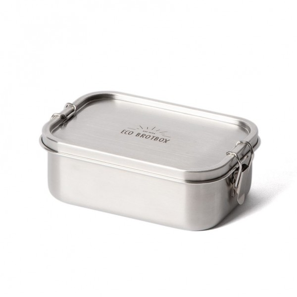 ECO Brotbox Yogi Box+ aus Edelstahl, auslaufsicher