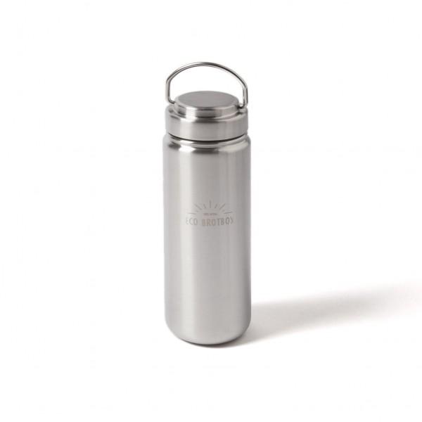 ECO Brotbox Zen 2 Trinkflasche aus Edelstahl, mit Schraubverschluss (0,8 L)