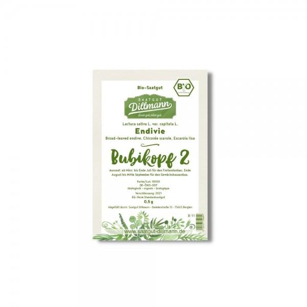 """Endiviensamen """"Bubikopf 2 / Perlita"""" BIO - 0,5g"""
